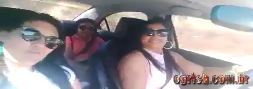 Três mulheres postam vídeo selfie minutos antes da morte