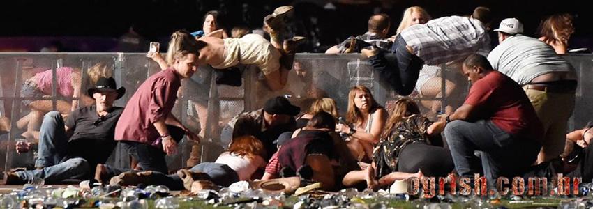 Massacre Las Vegas: Momentos de pânico durante atentado em Lasvegas que matou 59 pessoas