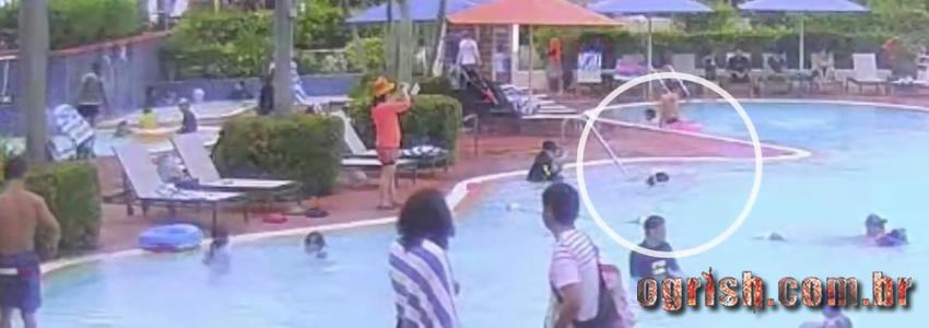 Garota de 5 anos se afoga em piscina de hotel