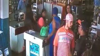 Homem fica gravemente ferido em briga no supermercado